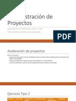 ADMINISTRACIÓN DE PROYECTOS Clase 3