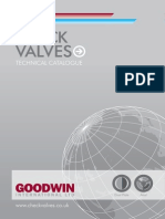 Goodwin Catalogue Swing Check Valve