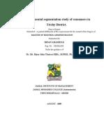 Environmental Segmentation Study of Consumers - Social Marketing