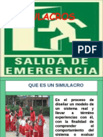 Simulacros de Emergencia
