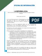 La Reforma Local