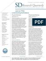 TReatments for PTSD Understanding Te Evidence