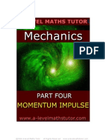 E-Book,Momentum & Impulse,mechanics revision notes from A-level Maths Tutor