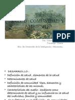 Salud Comunidad y Ambiente