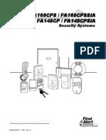 FirstAlert FA168CPS v7 Programming Manual