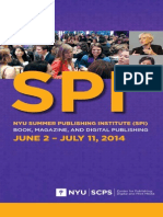 SPI Brochure for Summer Publishing Institute