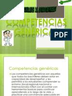 competencias genericas