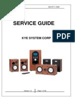 SW-HF 5.1 6000 Service Manual