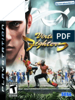 Virtua Fighter 5 - Manual - PS3