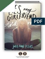 Lies My Girlfriend Told Me by Julie Anne Peters [SAMPLE]