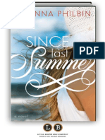 Since Last Summer by Joanna Philbin [SAMPLE]