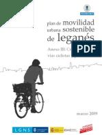 6º Anexo III-Movilidad peatonal y ciclista - Plan de Movilidad Urbana Sostenible de Leganés