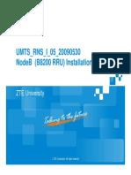 UMTS RNS I 05 20090530-NodeB(B8200 RRU)Installation Guide-69