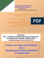 Manual Mampo Sismorres Parte 1- Xela Oct 25 2013