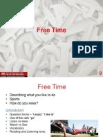 Rejuvenate Your English - Freetime