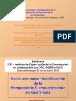 Manual Mampo Sismorres Parte 2 -- Xela 25 Oct 2013