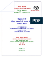 Guidelines Training Institutes