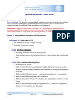 nccaom biomed exam content