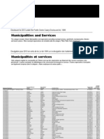 Ontario sunshine list: Municipalities and Services