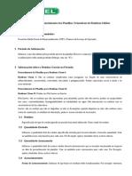 Instruções para Preenchimento das Planilhas Trimestrais de Resíduos Sólidos