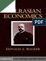 Walrasian Economics - Donald a.walker
