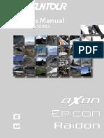 Owners Manual Axon Epicon Raidon Air Series