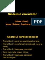 Anatomie Sistem CIRCULATOR