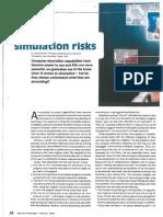 Computer Simulation Risks