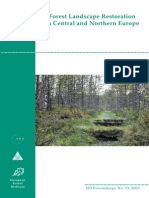 Forest Landscape Restoration in Central and Northern Europe