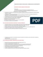 CRONOGRAMA DE ACTIVIDADES PARA LA IMPLEMENTACIÓN DEL PROCESO E AUTOEVALUACIÓN Y AUTORREGULACIÓN DE LOS DEPARTAMENTOS E INSTITUTO DE LENGUAS
