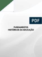 livro Fundamentos históricos da educaçao