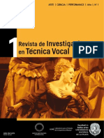 Revista de Investigaciones en Técnica Vocal