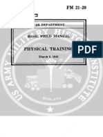 001958 FM 21-20 Basic Field Manual, Physical Training-1941