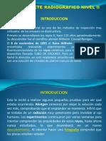 Interprete Radiografico Nivel II