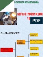 Capitulo III de Procesos de Union y Ensamble Procesos Manufactura i