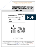 peterson elementary-implementation plan