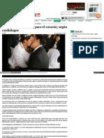 El matrimonio es sano para el corazón, según cardiólogos