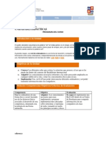 Contenidos, Estructura y Clasificación