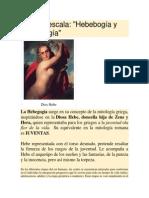 Hebebogía y Andragogía