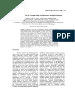 Role of Cytokines in PE