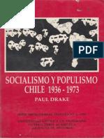 Paul Drake - Socialismo y Populismo en Chile