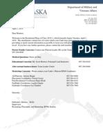 Mentor Letter 2014-2