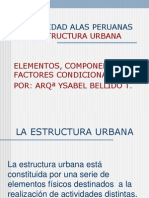 Estructura Urbana Actual