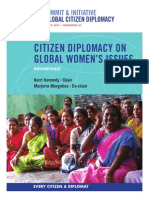 Citizen Diplomacy on Global Women's Issues Roundtable