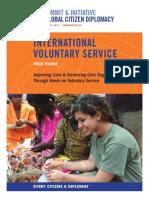 International Voluntary Service Task Force Report