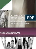 Clima y Cultural Organizacional