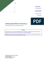 2009-09-14 - ISO/DIS 26000 - Leitfaden gesellschaftlicher Verantwortung