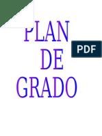 Plan de Grado