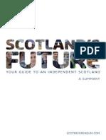 Scotland's Future 26-11-2013