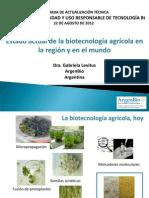 Estado Actual de La Biotecnologia - Gabriela Levitus